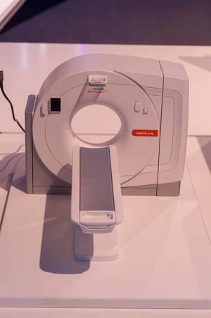 Somatom go.Up CT-Scanner von Siemens. Computertomograph