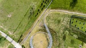 Sommerrodelbahn Gutach von oben fotografiert