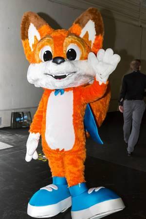 Sonics rechte Hand Tails - Gamescom 2017, Köln