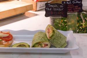 South of the border wraps at Chicago French Market