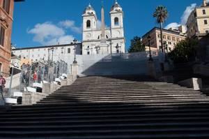 Spanische Treppe in Rom, Italien