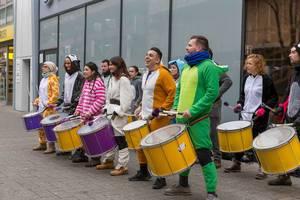 Spaß am Trommeln - Kölner Karneval 2018