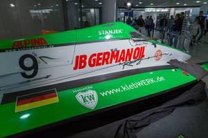 Speedboat by klebWerk Racing and Deutscher Motoryachtverband - Boot Düsseldorf 2018