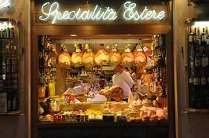 Spezialitätenladen in Rom