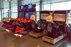 Spielautomaten SEGA Rally und SnoCross