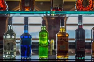 Spirits on shelf in the bar.jpg
