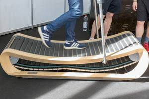 Sprintbok manual treadmill