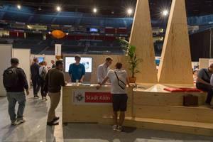 Stadt Köln bei der Startupcon 2018