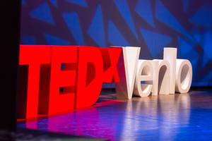 Stage at TEDxVenlo 2017