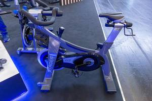 Stages Cycling Indoor Bike presented at Fibo Cologne