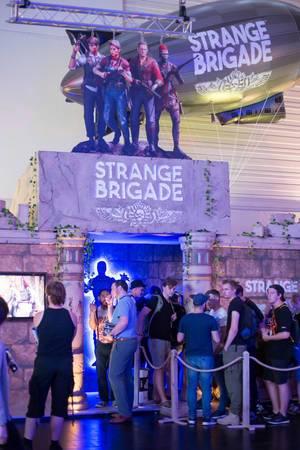Stand der Strange Brigade bei der Gamescom 2017