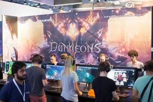 Stand von Dungeons bei der Gamescom 2017