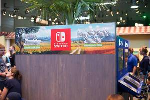 Stand von Landwirtschafts-Simulator