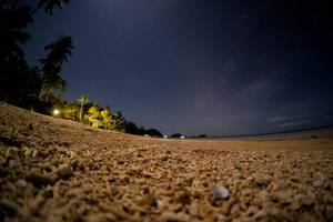 Starry night at Punta Bulata