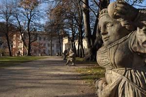 Statuen im Zwergerlgarten, Salzburg