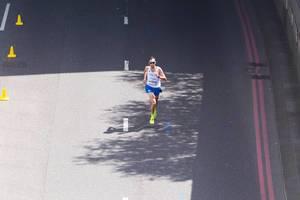 Stefano La Rosa (Marathon Finale) bei den IAAF Leichtathletik-Weltmeisterschaften 2017 in London