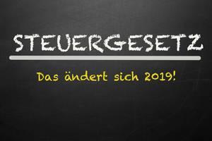 Steuergesetz 2019