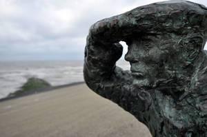 Strand Camperduin: Statue