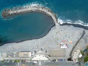 Strand in Ponta do Sol, Portugal