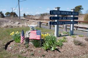Strand Keys Memorial Beach in Barnstable, USA