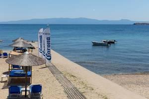 Strand von Ouranoupoli, Griechenland