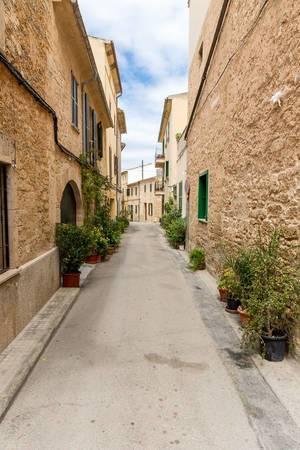 Straße in Alcudia