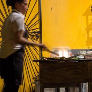 Straßenküche in Vietnam