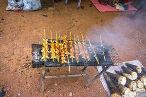 Street Food in the Angkor Wat Area in Siem Reap