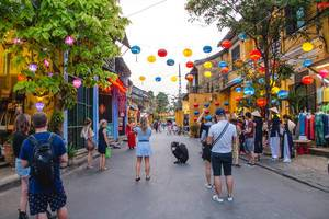 Street with Lantern in Hoi Ann Vietnam (Flip 2019)