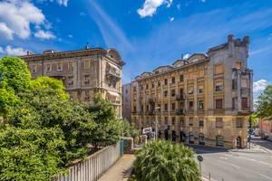 Streets in Rijeka, Croatia