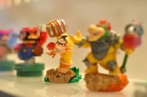 Super Mario, Donkey Kong und Bowser