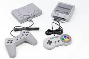 Super Nintendo Classic Mini und Playstation Classic Mini Konsolen Reboot