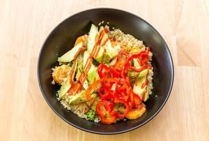 Superfood Avocado Quinoa Bowl