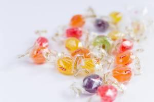 Süßigkeiten-Bonbons (engl: Colorful candies)