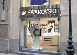 Swarovski shop in Budapest