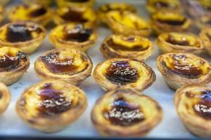 Sweets and pastry in Lisbon Portugal