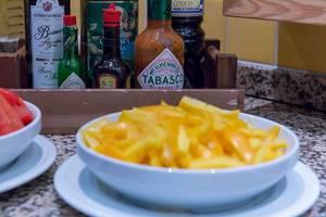 Tabasco, Worcestershiresauce und andere Saucen