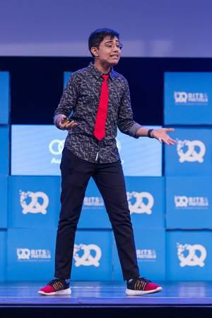Tanmay Bakshi - Junges IT Genie beim Start Up Festival Bits & Pretzels