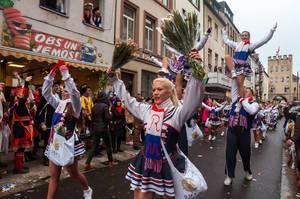 Tanzmariechen der Großen Mülheimer Karnevals Gesellschaft
