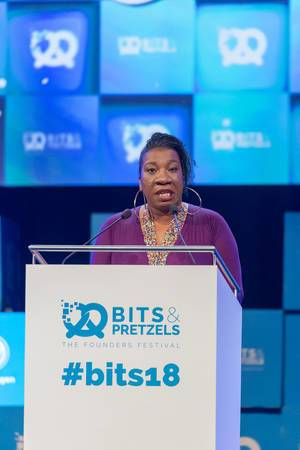 Tarana Burke - speech at the Bits & Pretzels Festival in Munich