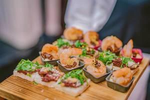 Tasty shrimp appetizer  Flip 2019