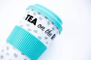Tea to go thermo mug