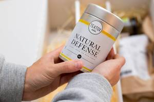 Teatox: Natural Defense Organic Green Tea with Ginger