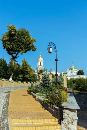 Territory of Kiev Pechersk Lavra / Territorium von Kiewer Lawra