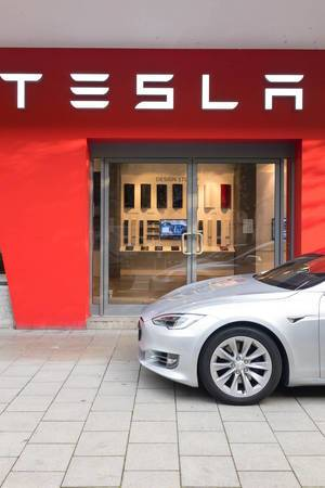 Tesla Motors Store München