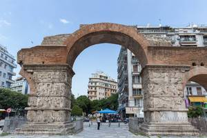 The Arch of Galerius in Thessaloniki