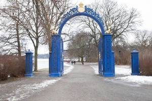 The Blue Gate- entrance (or exit) to Djurgården