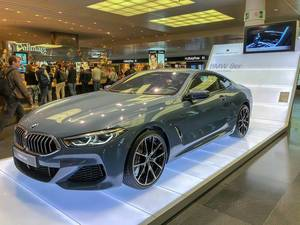 The brand new BMW 8 series