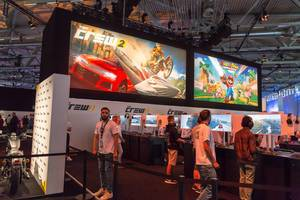 The Crew 2 Gaming-Ecke – Gamescom 2017, Köln