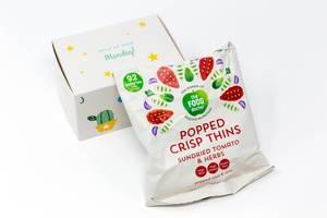 The Food Doctor - Chips aus Soja und Maismehl mit getrockneten Tomaten und Kräutern aus dem dritten Türchen des Foodist Active Adventskalenders
